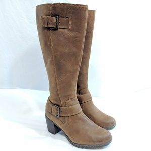 B.O.C. by Bjorn Matte Brown Leather Tall Boots